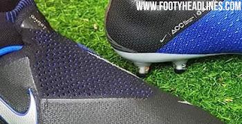 b1d905f7d Black / Blue / Silver Nike Phantom Vision 2018-2019 Boots Leaked