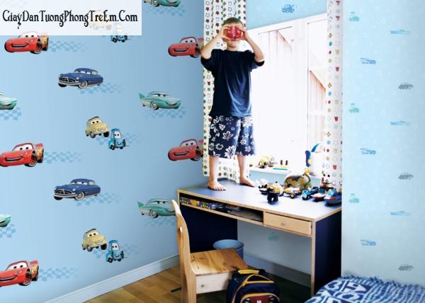 Mẫu giấy dán tường cho Trẻ từ 5-9 tuổi
