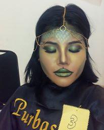 Makeup Competition 1st Place with Tiara Kusuma and Purbasari