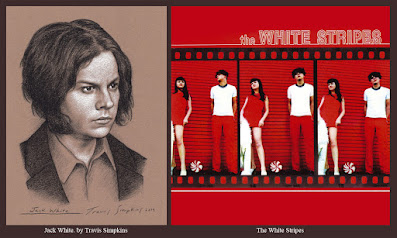 Jack White. Singer-Songwriter and Producer. The White Stripes. Third Man Records. by Travis Simpkins