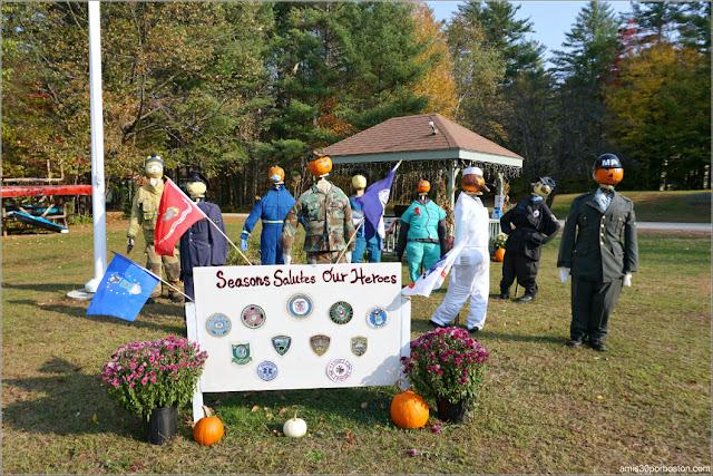 Héroes Calabaza en New Hampshire