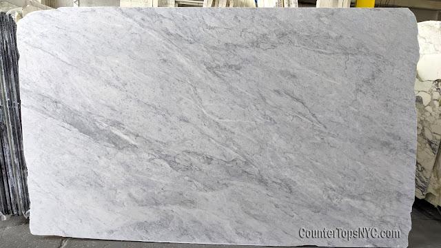 White Carrara Marble Slab NYC