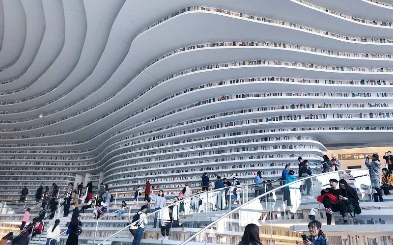 ¿Bibliotecas del futuro?