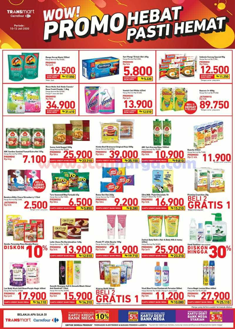 Katalog Promo JSM Carrefour Weekend 10 - 12 Juli 2020 1