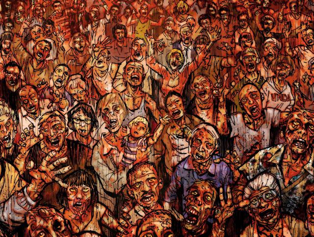 zombie apocalypse comic