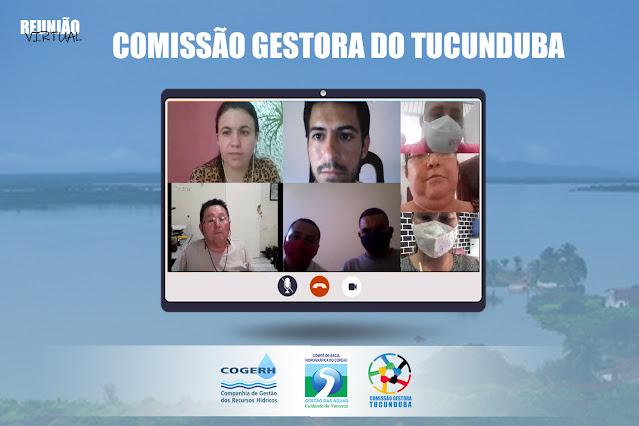 Comissão Gestora do Tucunduba se reúne para avaliar o comportamento do Açude no segundo semestre de 2020 até o dia 31 de janeiro de 2021