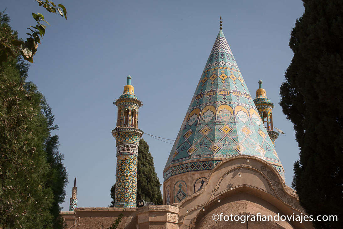 Mausoleo Emamzadeh Ebrahim en Kashan