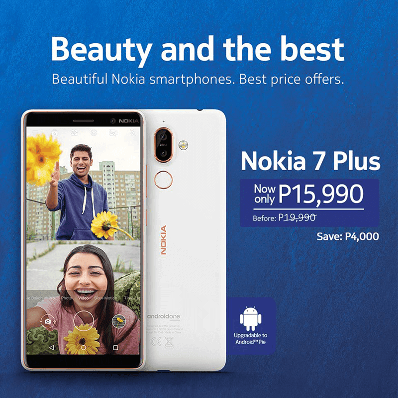 Sale Alert: New Nokia 7 Plus and Nokia 3.1 price cut!