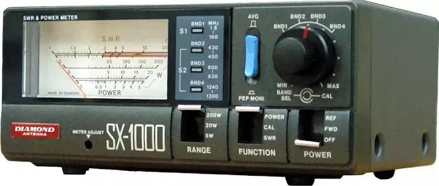 Измеритель мощности и КСВ VEGA SX-1000 вставного типа эффективный инструмент в широком диапазоне полу-профессиональных измерительных и контрольных приборов