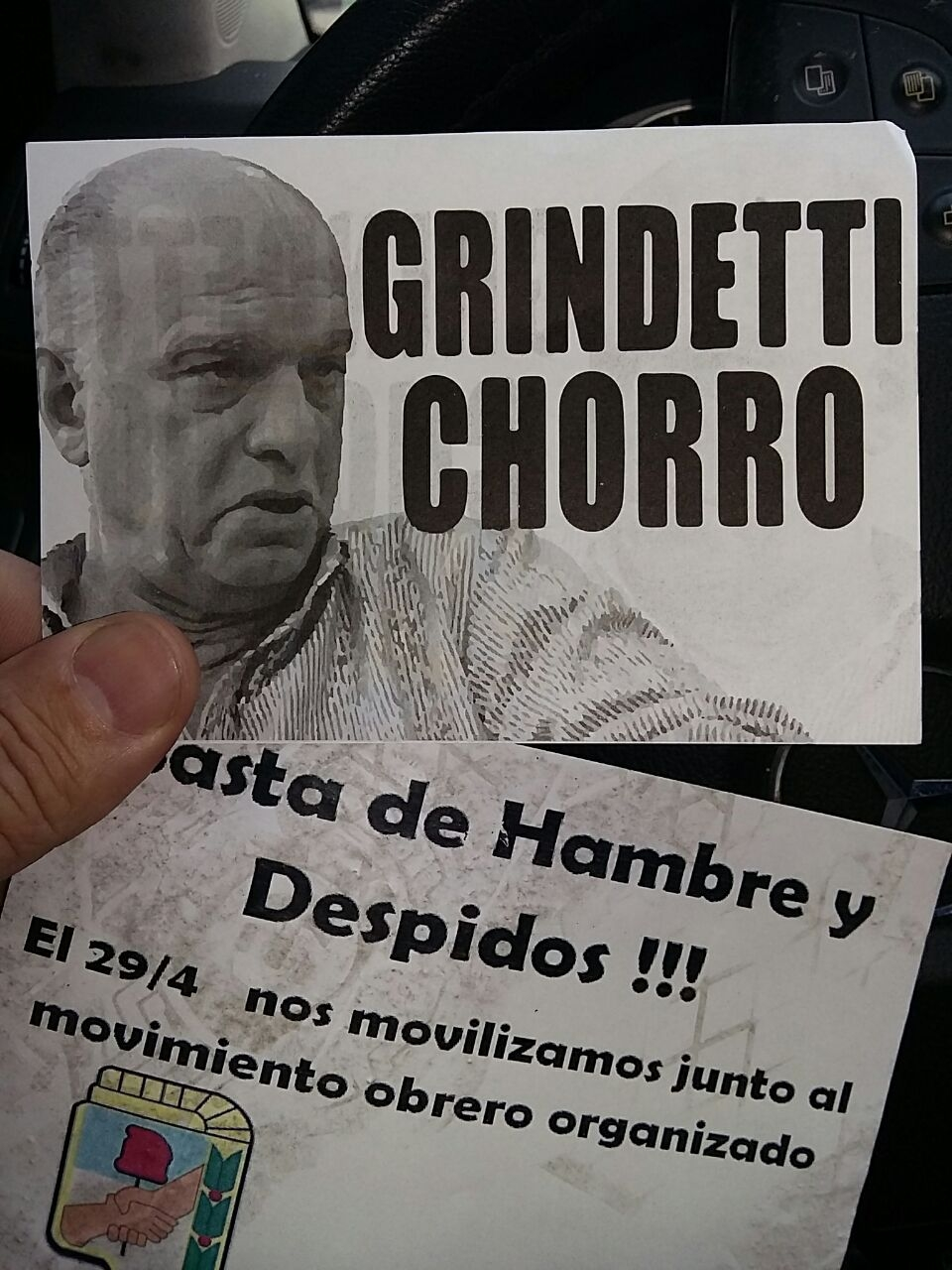 #Panamápapers: Grindetti usó barrabravas para no comparecer ante el Concejo Deliberante