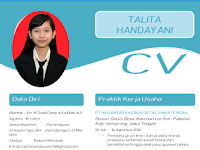 Contoh CV Menarik untuk Fresh Graduate dalam bentuk Word Terbaru