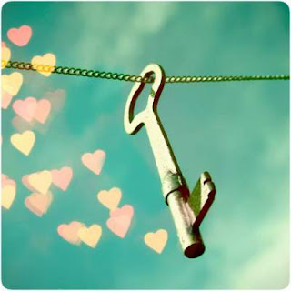 beautiful key with hearts