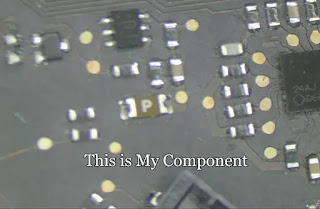 Unsolder the component