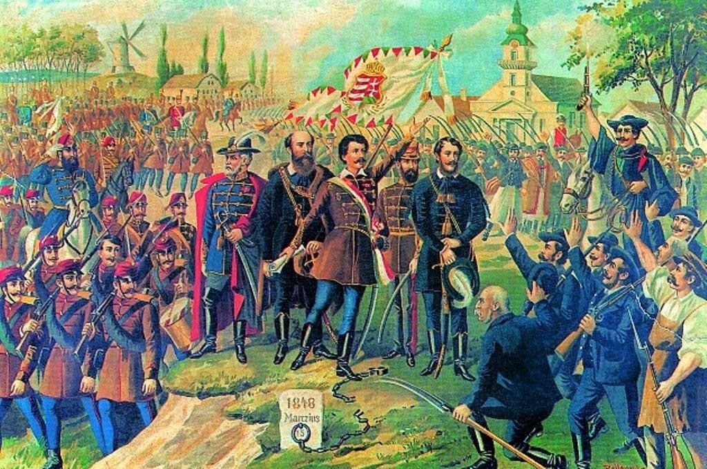 1848–49, forradalom, magyar tavasz, nemzeti ünnep, Petőfi Sándor, vers, Március 15,