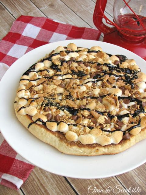 S'mores Pizza Recipe