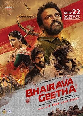 Bhairava Geetha (2018) South Hindi Dubbed Movie 720p Uncut WEB-HDRip Download