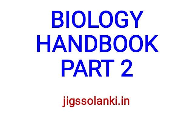 BIOLOGY HANDBOOK PART 2
