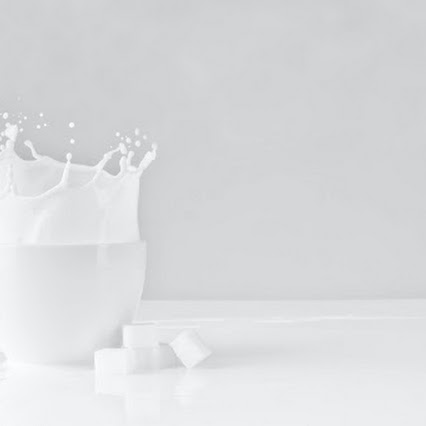 How much protein does a cup of milk contain?