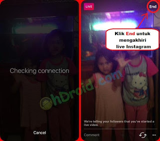 Cara Live di Instagram Android dan iPhone