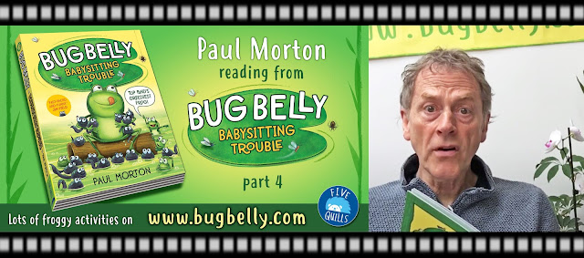 header image advertising Paul Morton reading Bug Belly book part 4