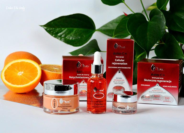 Laboratorium Kosmetyczne AVA Asta C + - antyoksydacyjna pielęgnacja krok po kroku