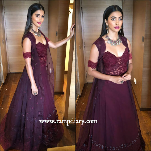 Pooja Hegde in Jade by MK for  IFFI