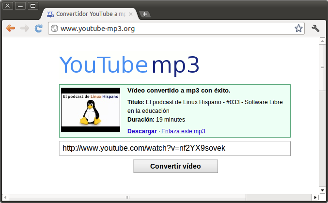 COMO CONVERTIR VIDEOS DE YOUTUDE A MP3 | tutogalo pc