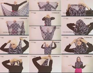 Tutorial Hijab Zaskia Sungkar
