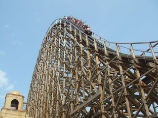 Big Airtime at El Toro at Six Flags Great Adventure