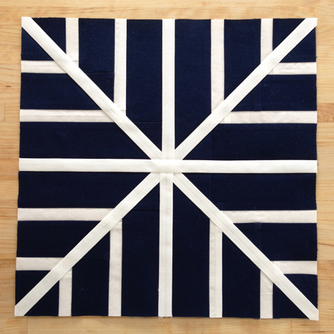 Snowflake Quilt Block Free Tutorial