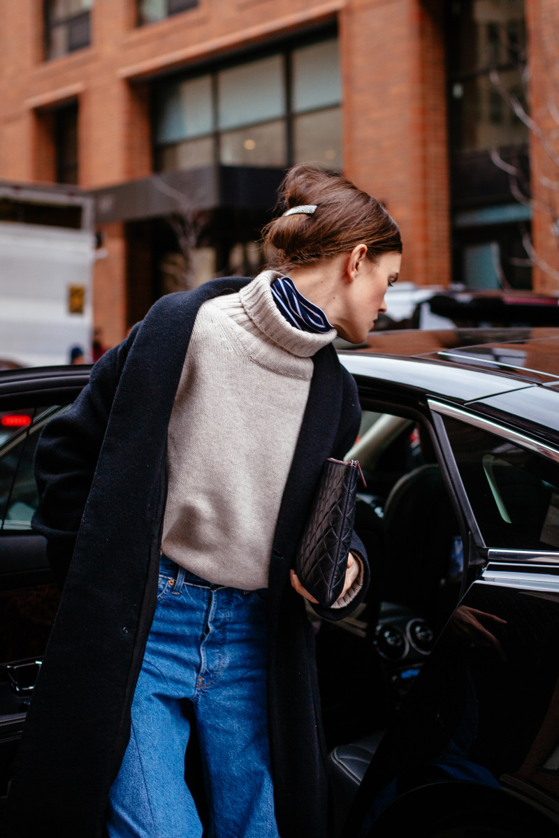 The Double Turtleneck Look to Try for Fall and Winter — Street Style Outfit