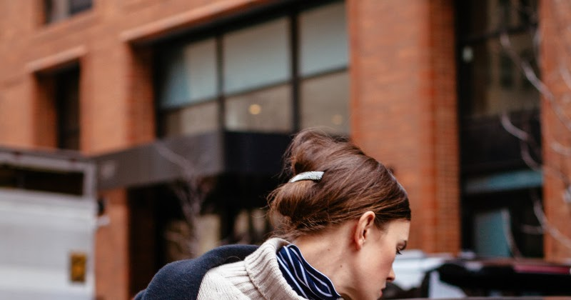 The Double Turtleneck Look to Try for Winter