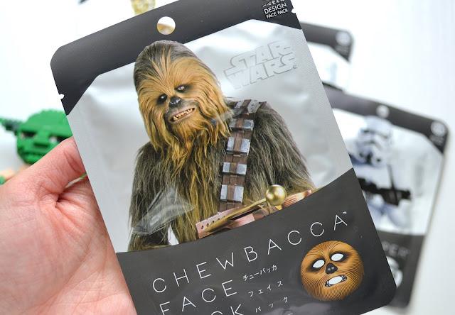 Chewbacca Star Wars Sheet Mask