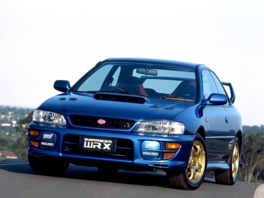 Subaru Impreza WRX STI Coupe Type R Version V (GC8)