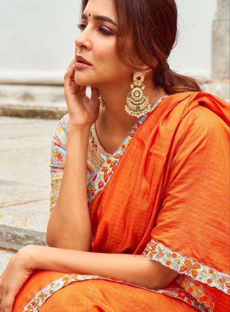 Lakshmi Manchu Kundan Earrings