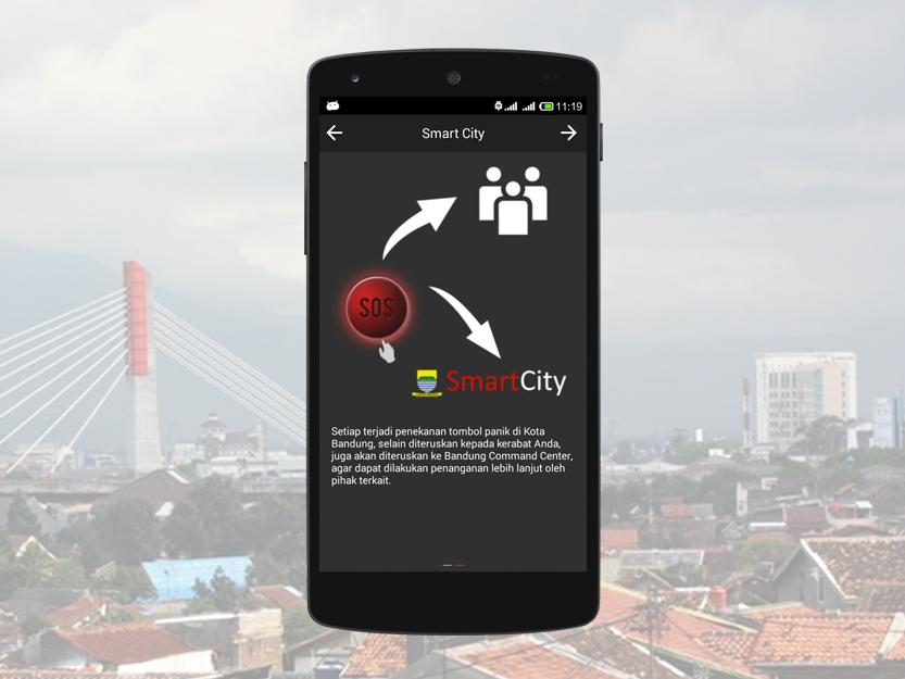 Aplikasi Panic Button Kota Bandung