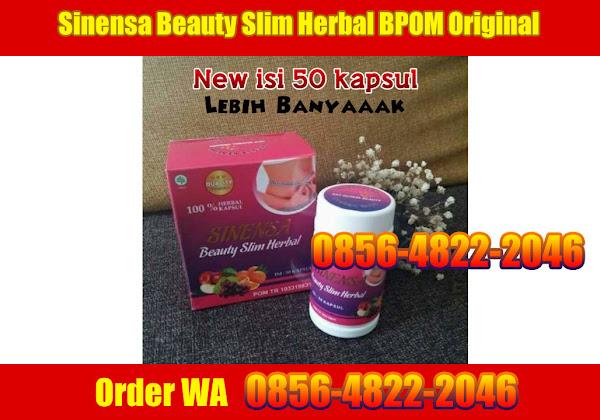 Sinensa Beauty Slim Herbal BPOM Original - Pelangsing Herbal BPOM - order WA 0856-4822-2046