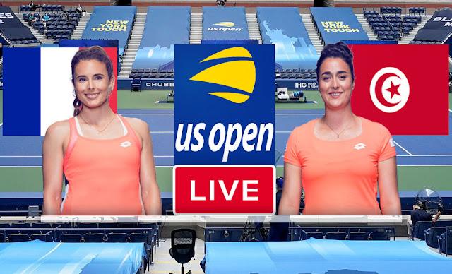 Match Tennis En Direct Ons Jabeur vs Alizé Cornet, US Open 2021