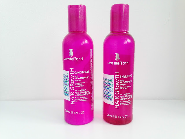 Lee Stafford Hair Growth Shampoo and Conditioner