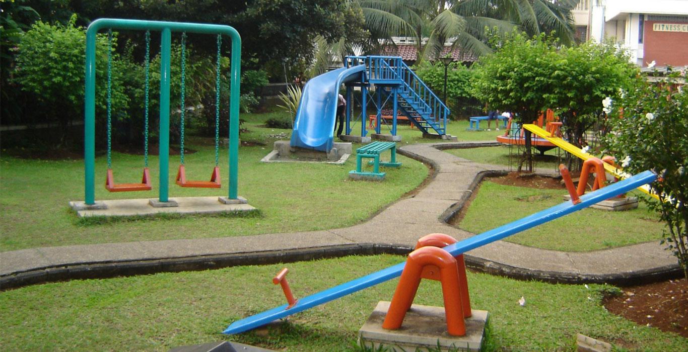 Grantnsaipan: Desain Taman Bermain Anak Minimalis