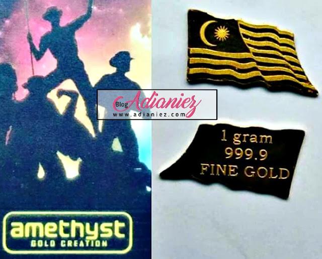 Jongkong Emas 1 gram Edisi Merdeka Dibuka Untuk Jualan Sekarang