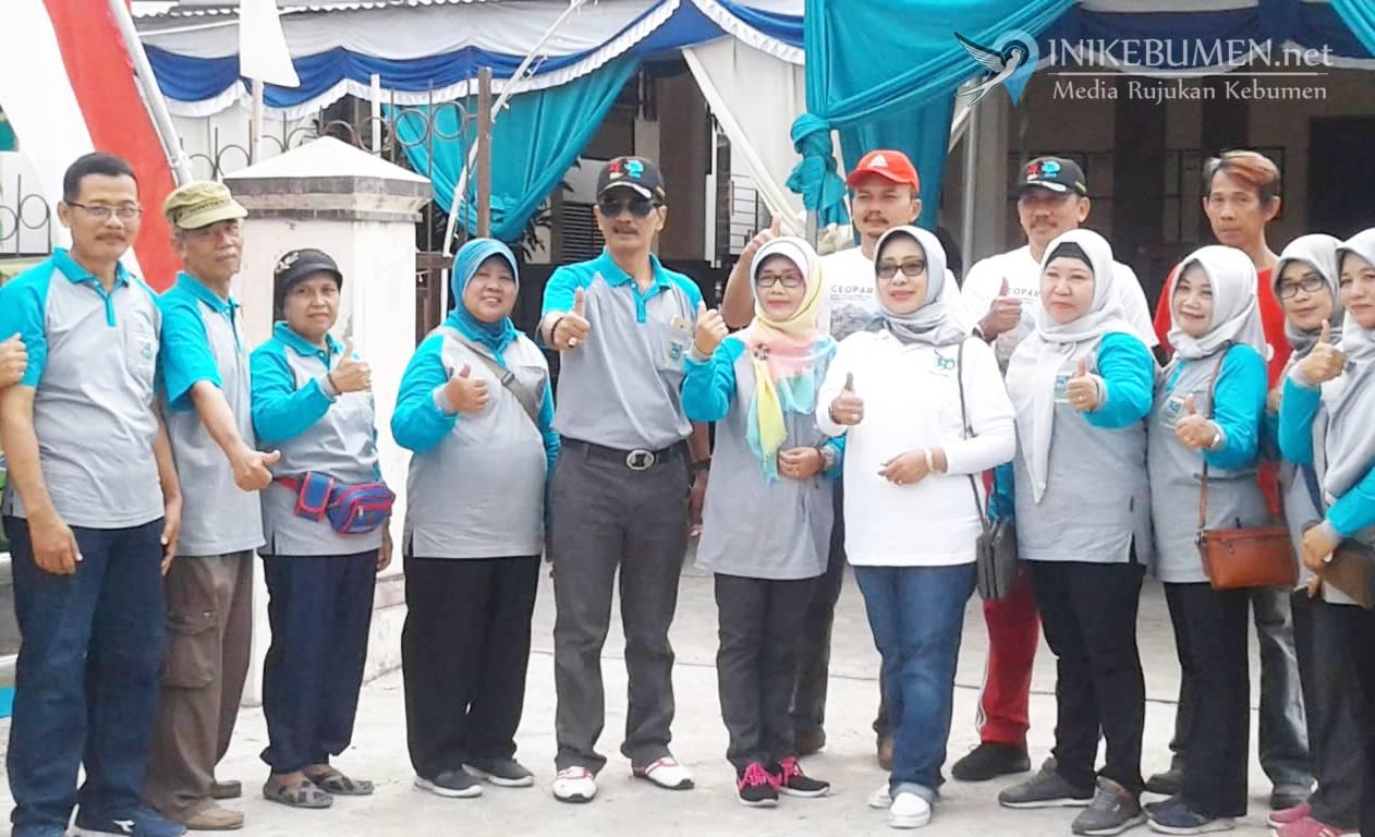 Ratusan Warga Ikuti Jalan Sehat Kelurahan Kebumen