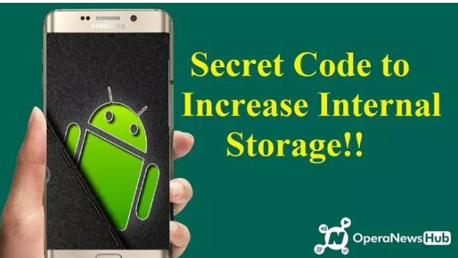 Tech: Android Secret Code to Increase Internal Storage