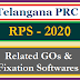 Telangana PRC RPS - 2020 GOs 51 52 53 Master Scales Allowances DA HRA Download