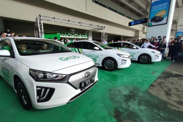 Grab bakal mengoperasikan 500 taksi bertenaga listrik tahun ini