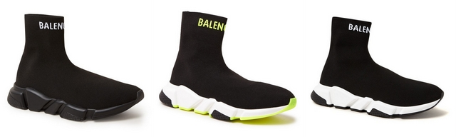 Shop tip trendy en chunky Balenciaga Triple S sneakers speed trainer Bijenkorf ugly dad sneaker trend mode blogger fashion influencer