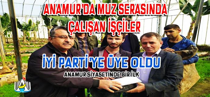 Anamur Haber, İYİ Parti Anamur, SİYASET, Anamur Son Dakika,