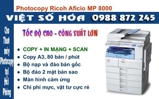 Bán máy photocopy Ricoh Aficio MP 8000