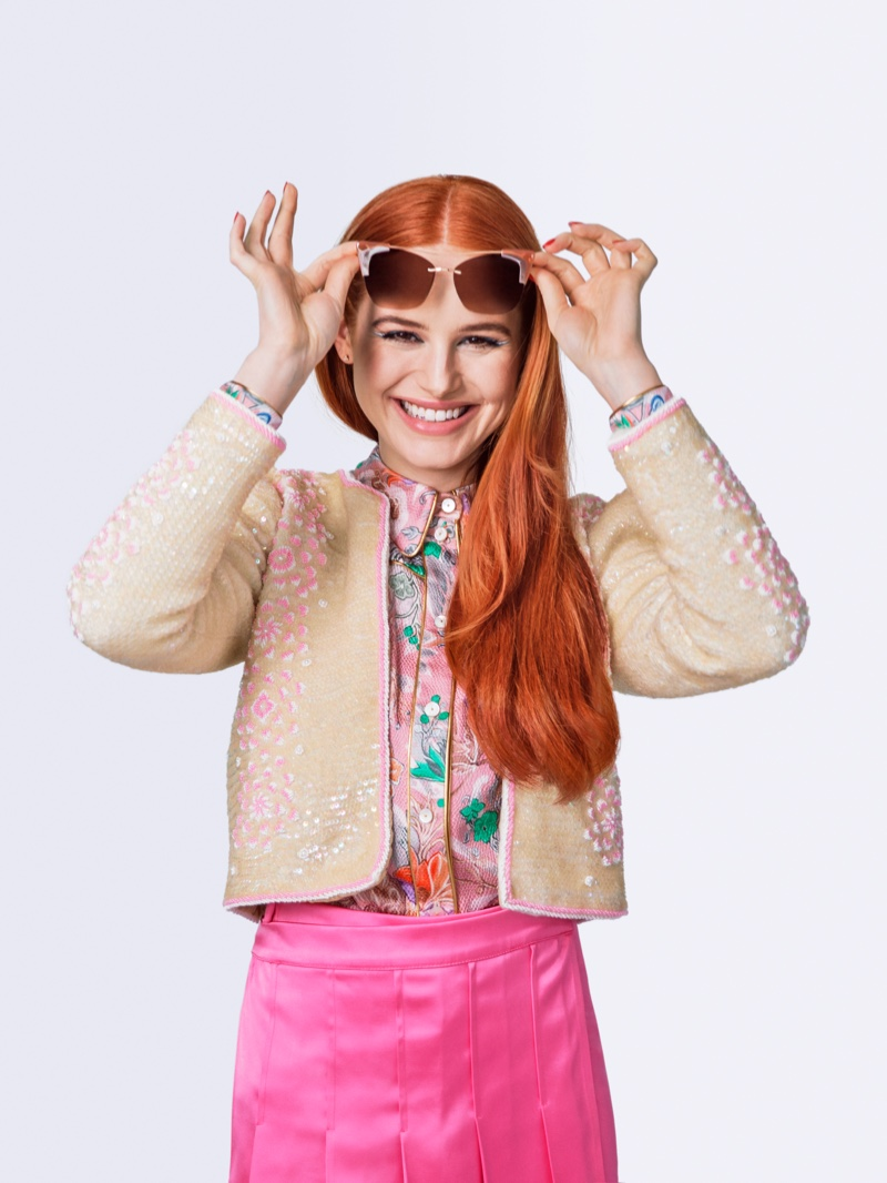 Madelaine Petsch is the star of Seventeen Magazine October 2019