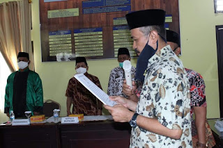 Sekda Lantik Pejabat Fungsional